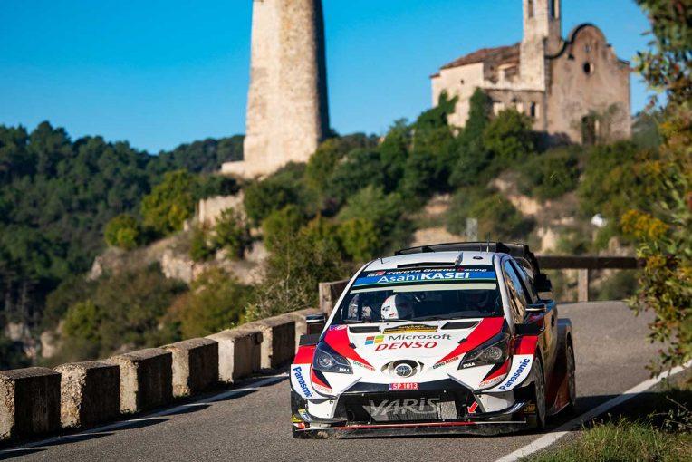 ラリー/WRC | WRC第13戦スペイン:タナクが2019年のシリーズチャンピオンに。トヨタに1994年以来の栄光もたらす