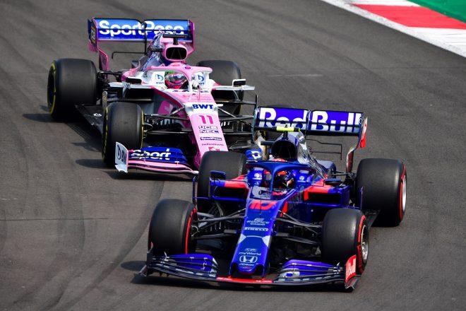 2019年F1第18戦メキシコGP ピエール・ガスリー(トロロッソ・ホンダ)