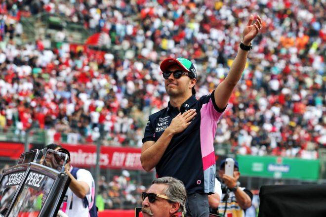 2019年F1第18戦メキシコGP決勝 セルジオ・ペレス(レーシングポイント)