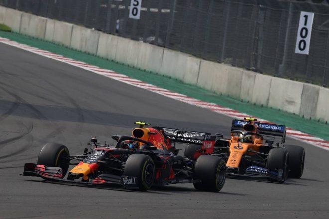 2019年F1第18戦メキシコGP決勝 アレクサンダー・アルボン(レッドブル・ホンダ)