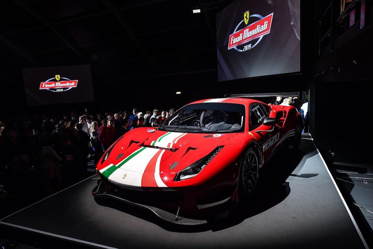"""フェラーリ488GT3に""""ダブルEVO""""モデルが登場。空力刷新で2020年供給開始"""