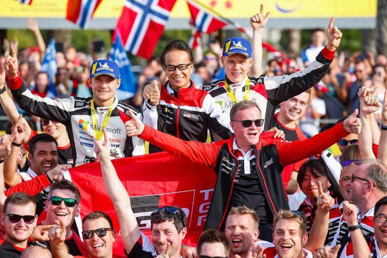 ラリー/WRC | WRC:トヨタ、1994年以来通算5回目のドライバーズタイトル獲得。トミ・マキネン、「歴史的な快挙」と喜び