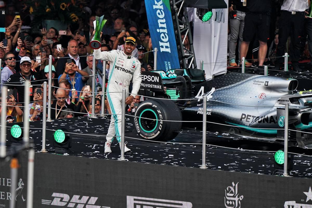2019年F1第18戦メキシコGP ルイス・ハミルトン(メルセデス)