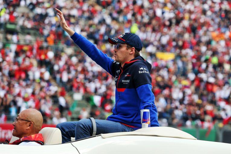 F1 | ポイント失ったクビアト、接触へのペナルティに不満「ドライバーならあそこで戦うのが当たり前」:トロロッソ・ホンダF1