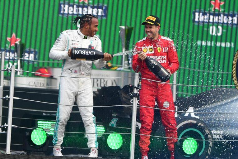 F1 | ベッテル2位「僕らが大失敗したのではない。優勝したハミルトンは速さがあったが運もよかった」フェラーリ F1メキシコGP