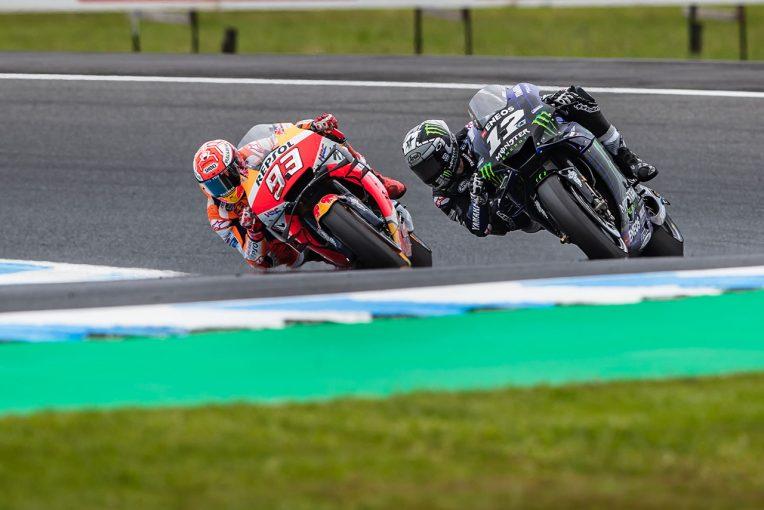 MotoGP | MotoGPオーストラリアGP:ビニャーレスが最終ラップの勘所と見た10コーナー。「リヤのロック」で決した勝敗