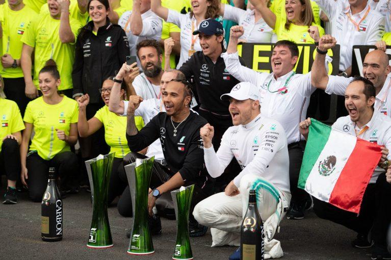 F1 | 予選で大クラッシュのボッタスが挽回して3位「タイヤ管理をうまくやれたことでチャンスが生まれた」:メルセデスF1