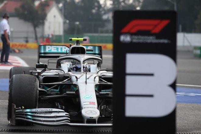 2019年F1第18戦メキシコGP 決勝3位のバルテリ・ボッタス(メルセデス)