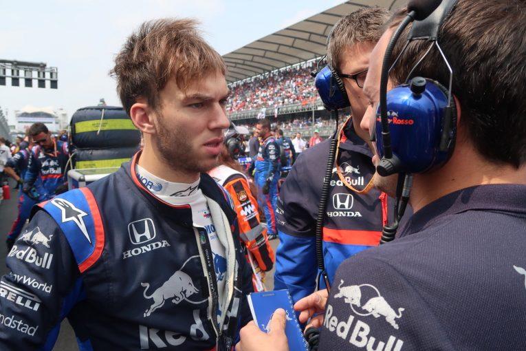 Blog | 【ブログ】体調不良のガスリー、しかしレース前には精悍な目つきに/F1メキシコGP現地情報その2