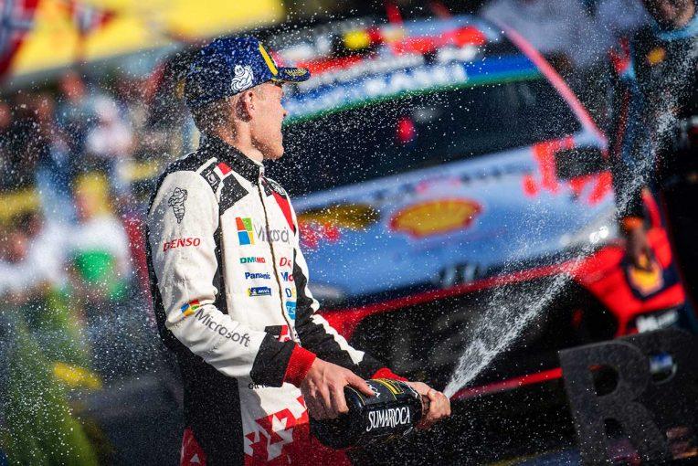 ラリー/WRC | WRC:覚悟の自力決着。トヨタのタナクが初のワールドチャンピオン獲得も気になる2020年の動向