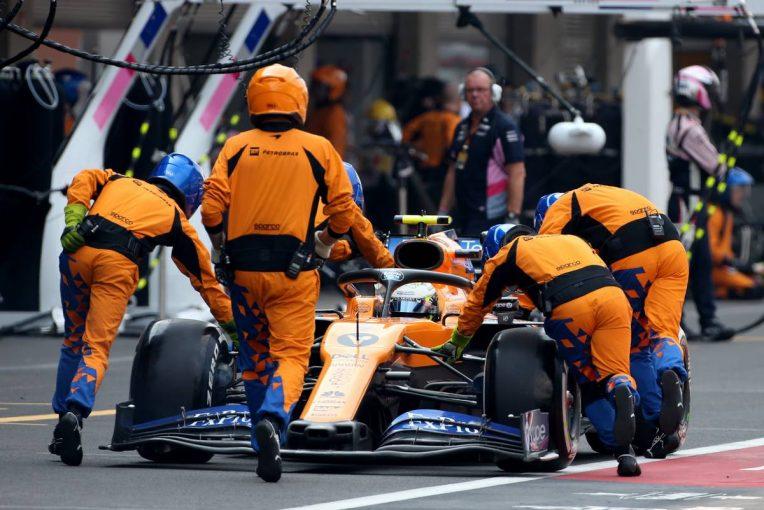 F1 | ノリス「ペースは良かったのに、ピットストップの問題で周回遅れに」:マクラーレン F1メキシコGP日曜