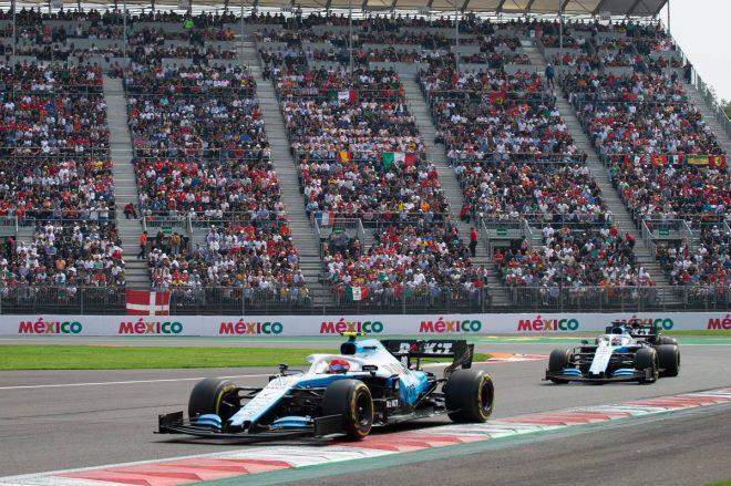 2019年F1第18戦メキシコGP決勝 ロバート・クビサ(ウイリアムズ)
