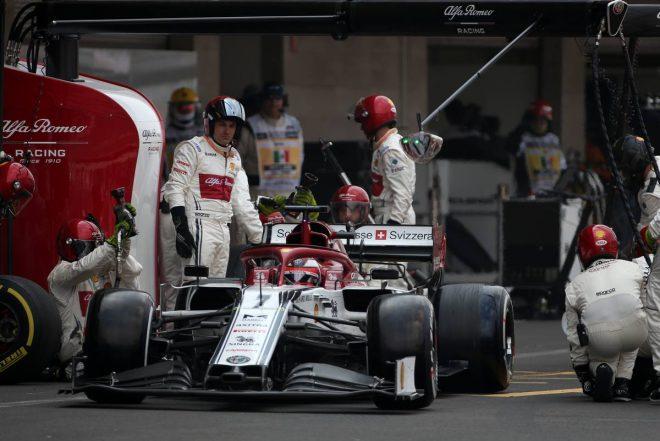 2019年F1第18戦メキシコGP決勝 キミ・ライコネン(アルファロメオ)