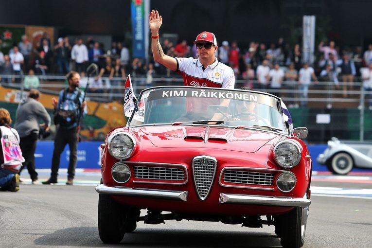 F1   ライコネン「スタートで接触。不運だがレースはこういうこともある」:アルファロメオ F1メキシコGP日曜