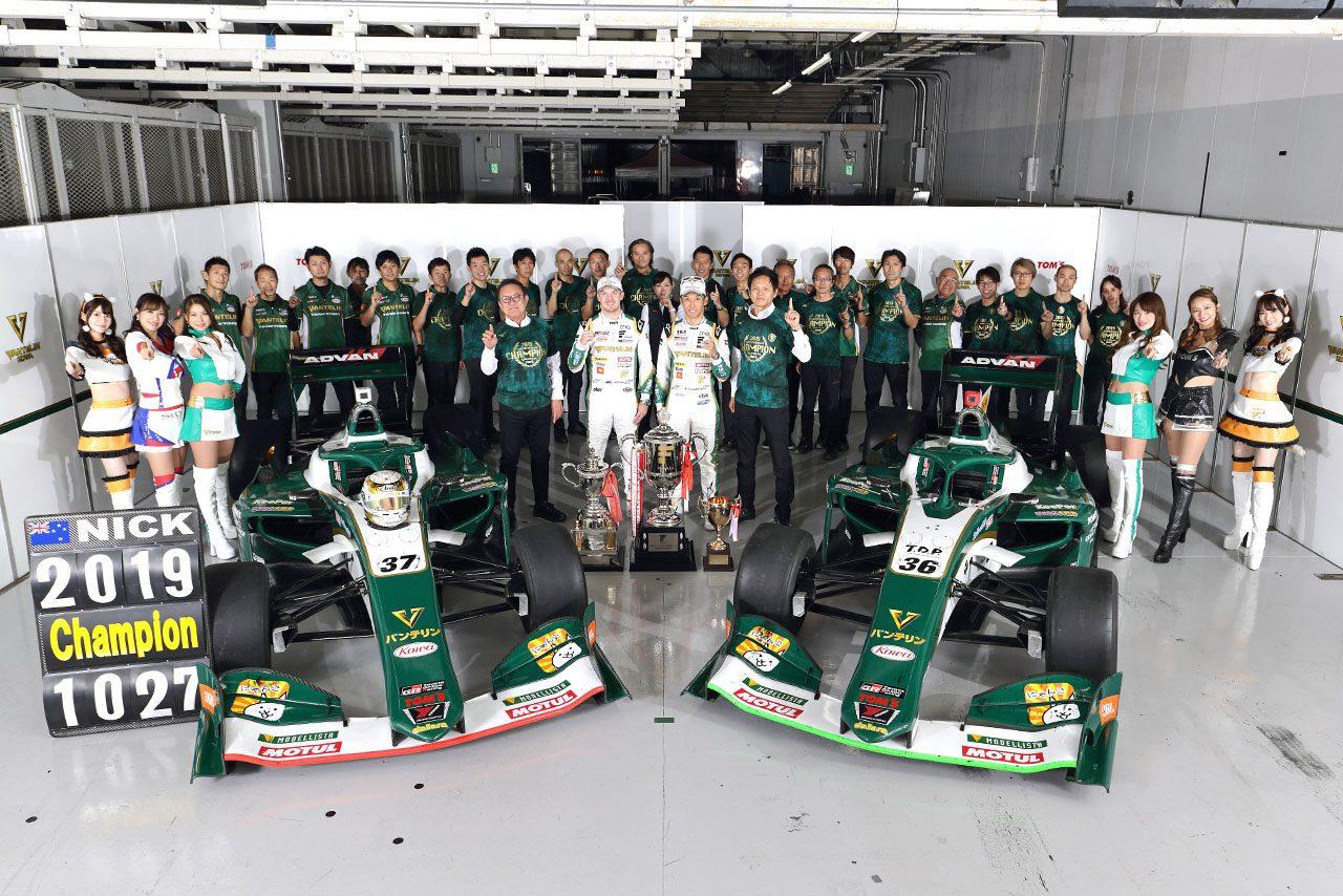 トヨタ 2019スーパーフォーミュラ第7戦鈴鹿 レースレポート