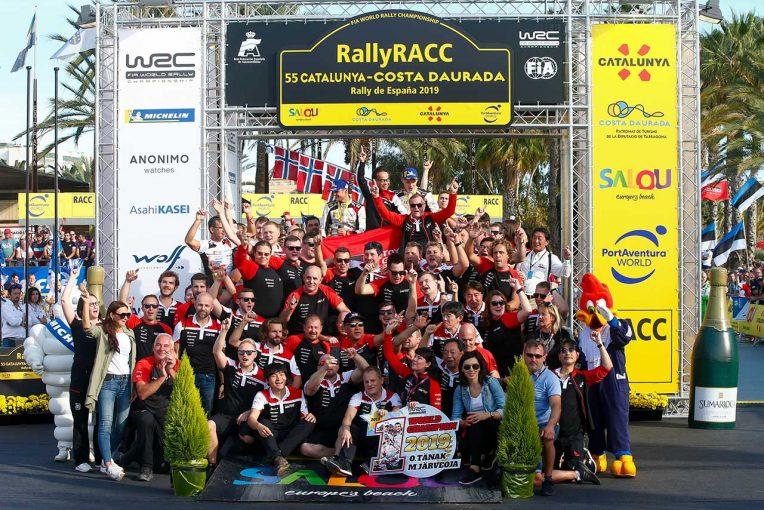ラリー/WRC | トヨタ、マニュファクチャラーズタイトル防衛に望みをつなぐ【ポイントランキング】2019WRC第13戦スペイン終了時点