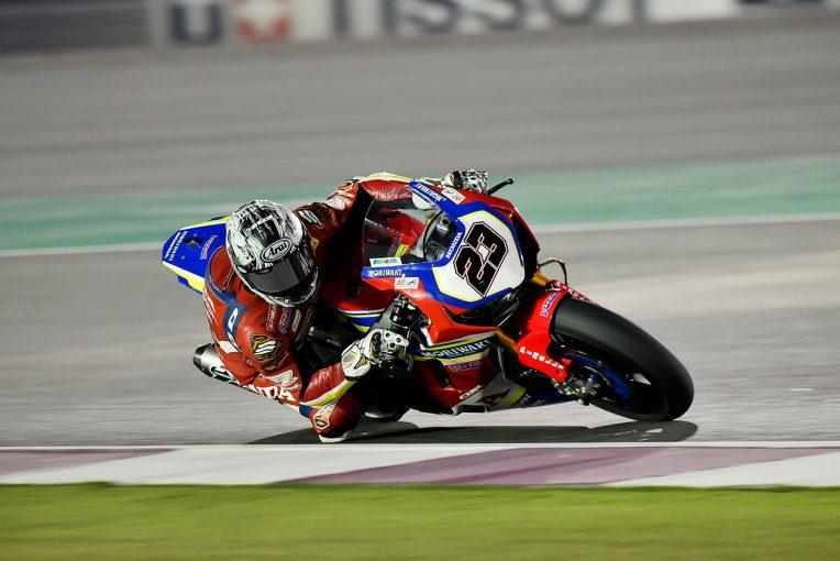 MotoGP   SBK:清成、最終戦はレース1でポイント圏内の14位フィニッシュも、フロントのフィーリングに苦戦