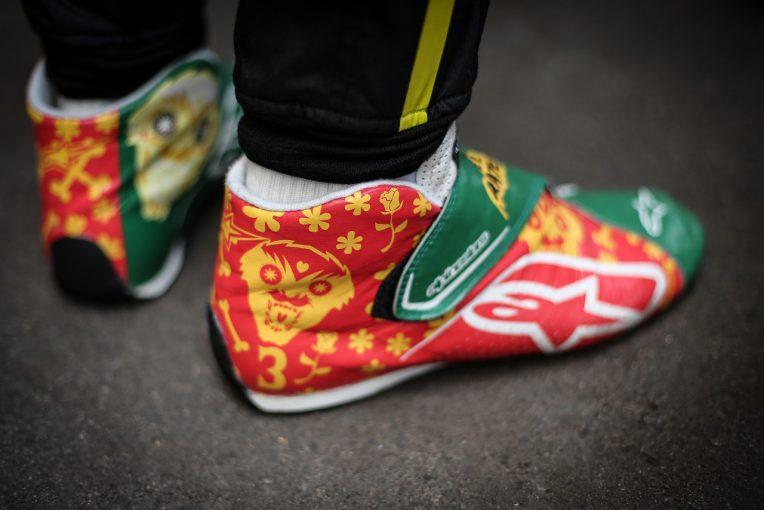 F1 | SNS特集F1メキシコGP:ヘルメットからシューズまで陽気なラテンカラーに。表彰式は奈落からウイナー登場のド派手演出