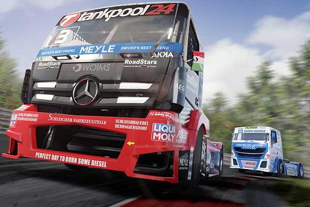インフォメーション | トレーラーヘッドバトルは達成感もひとしお。10月31日発売『FIA ヨーロピアン・トラックレーシングチャンピオンシップ』試遊レポート