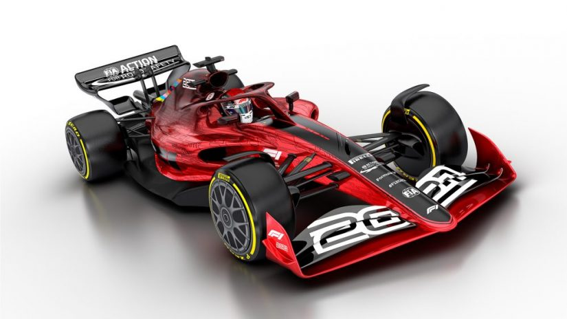F1 | 2021年F1新レギュレーションが承認。「セクシーで接近戦が可能」な新世代マシンの外観も発表に