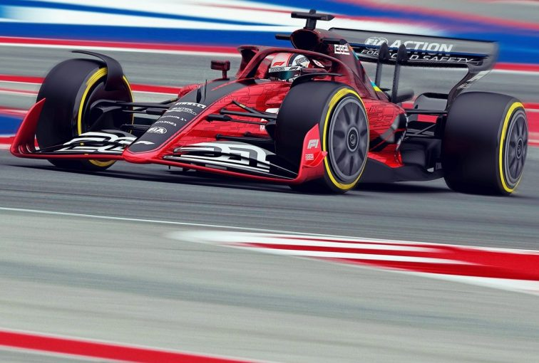 F1 | 【ギャラリー】2021年新F1マシン予想図。バトル活性化目指し、空力規定を大幅変更
