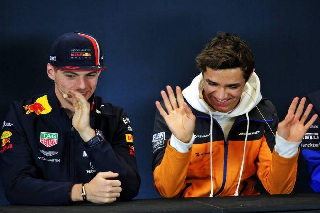 F1アメリカGP木曜会見:マックス・フェルスタッペン、ランド・ノリス