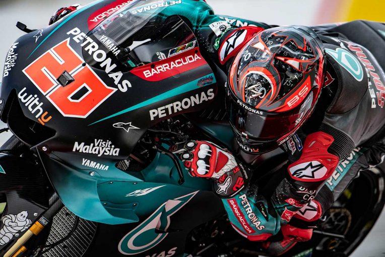 MotoGP | MotoGPマレーシアGP:クアルタラロがレコード更新タイムで初日総合首位。マルケスはトップ5に食い込めず