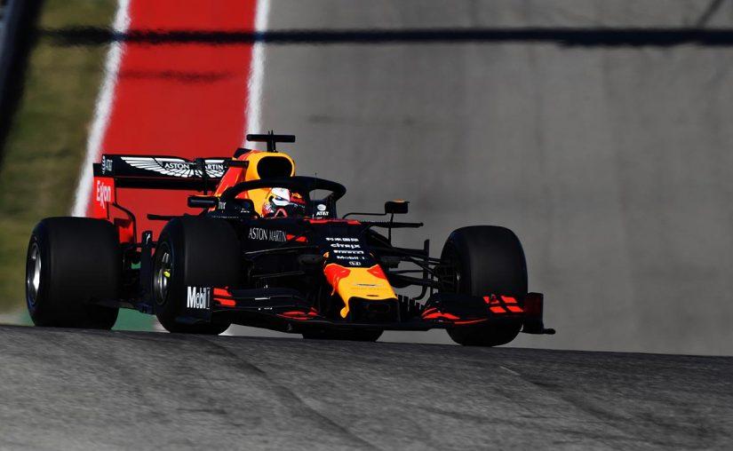 F1 | F1アメリカGP FP1:レッドブル・ホンダが1、3番手の好発進。各チームは2020年F1新タイヤもテスト