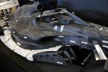 2019年F1第19戦アメリカGP 記者会見の場に用意された2021年のF1モデルカー
