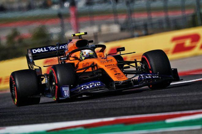 2019年F1第19戦アメリカGP ランド・ノリス(マクラーレン)