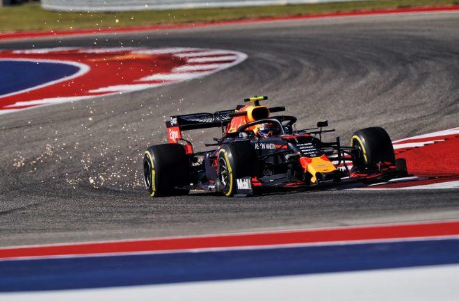 2019年F1第19戦アメリカGP金曜 アレクサンダー・アルボン(レッドブル・ホンダ)