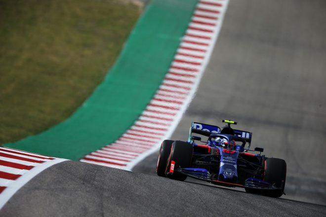 2019年F1第19戦アメリカGP金曜 ピエール・ガスリー(トロロッソ・ホンダ)