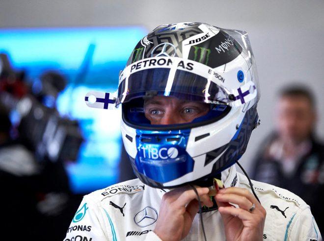 2019年F1第19戦アメリカGP バルテリ・ボッタス(メルセデス)