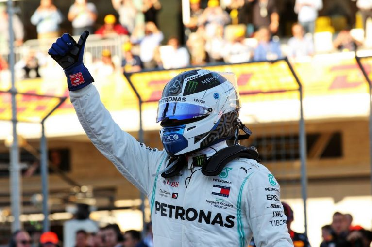 F1 | F1アメリカGP予選:ボッタスが渾身のポールポジション。ホンダPU勢は3台がQ3進出