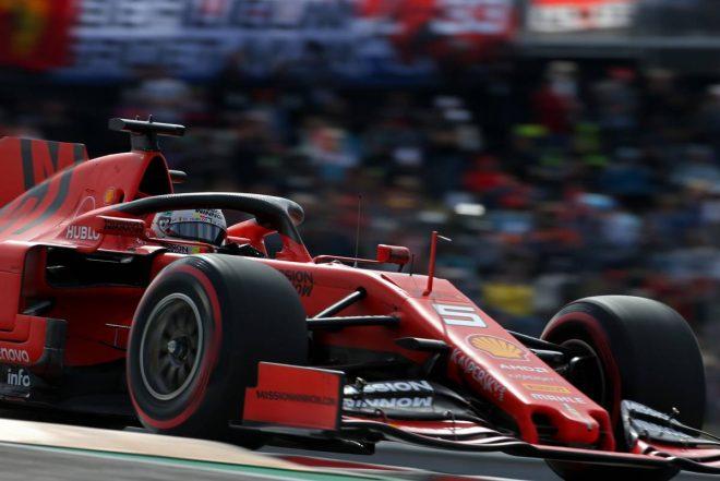 2019年F1第19戦アメリカGP セバスチャン・ベッテル(フェラーリ)