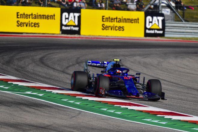 2019年F1第19戦アメリカGP土曜 ピエール・ガスリー(トロロッソ・ホンダ)