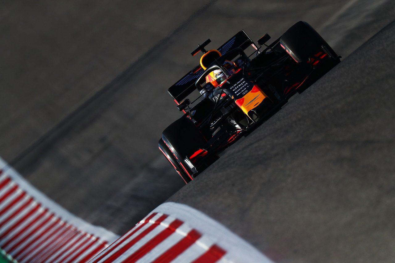 2019年F1第19戦アメリカGP土曜 マックス・フェルスタッペン(レッドブル・ホンダ)