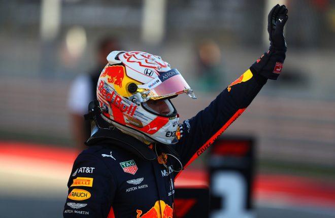2019年F1第19戦アメリカGP土曜 マックス・フェルスタッペン(レッドブル・ホンダ)が予選3番手