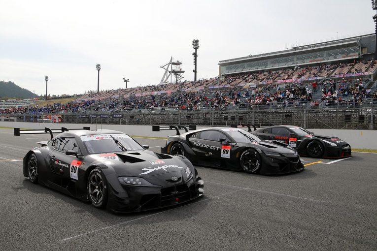 スーパーGT | スーパーGT:2020年のGT500クラス1車両がもてぎでデモラン。ファンにその勇姿をお披露目