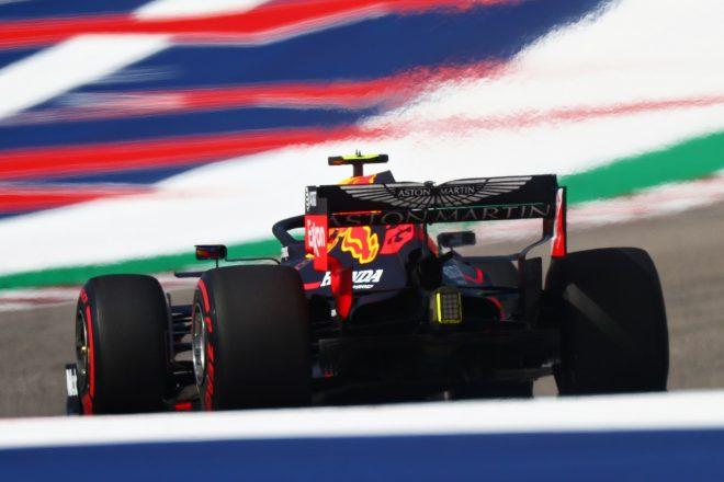 2019年F1第19戦アメリカGP土曜 アレクサンダー・アルボン(レッドブル・ホンダ)