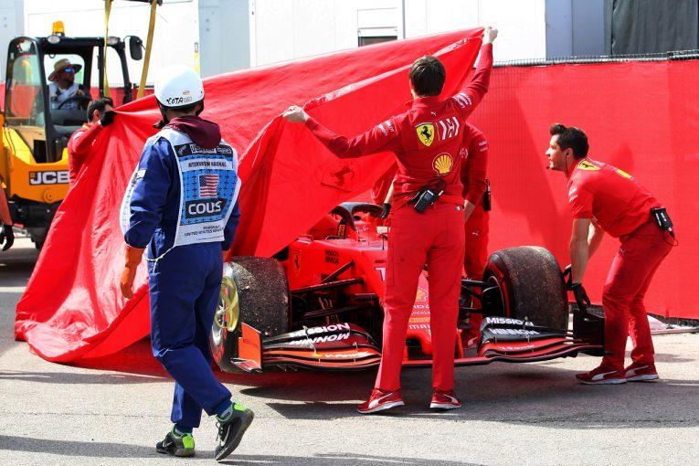 F1 | ルクレール、PU交換もペナルティはなし「問題が相次ぎ走行時間をロス。予選4番手で満足するしかない」フェラーリF1