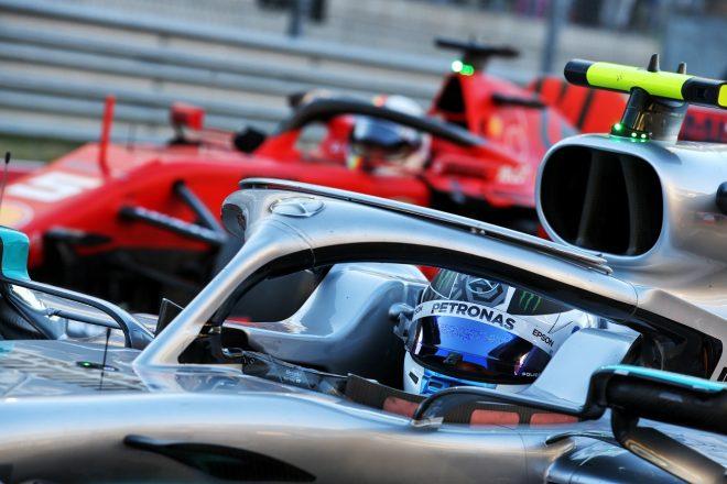 2019年F1第19戦アメリカGP ポールのバルテリ・ボッタス(メルセデス)