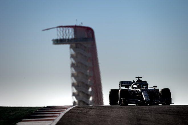 2019年F1第19戦アメリカGP ルイス・ハミルトン(メルセデス)