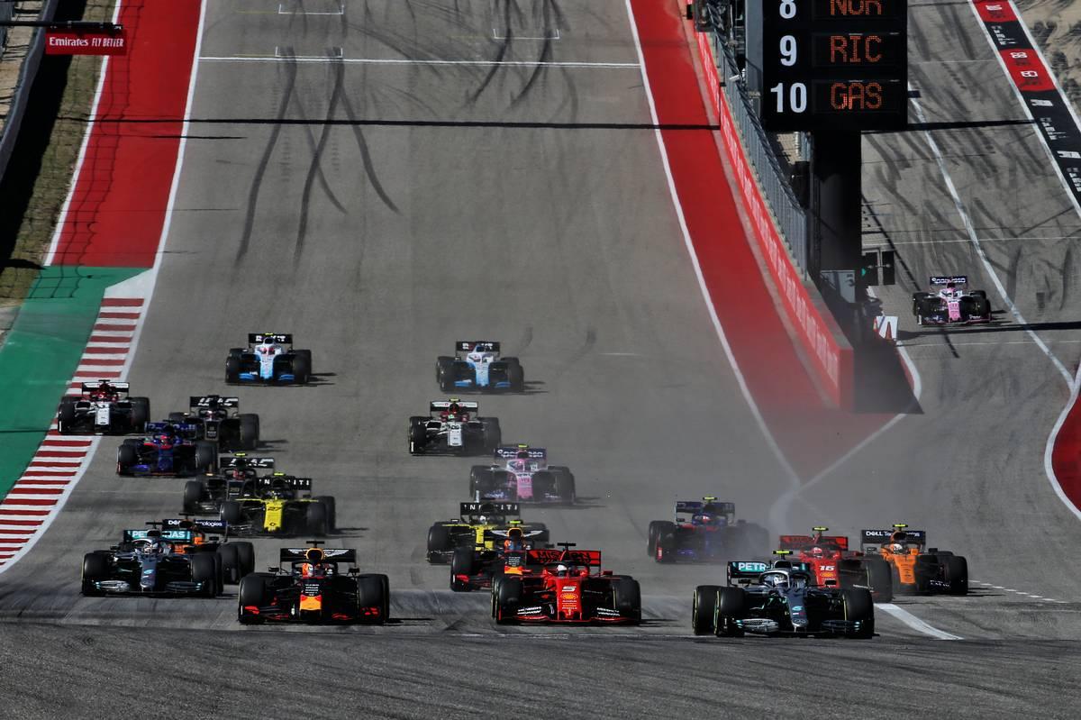 2019年F1第19戦アメリカGP