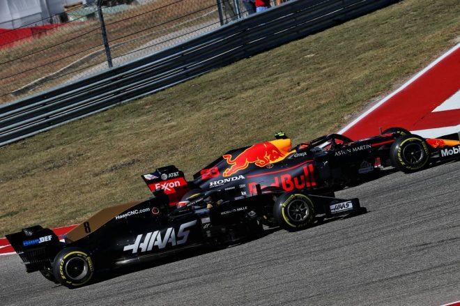 2019年F1第19戦アメリカGP アレクサンダー・アルボン(レッドブル・ホンダ)