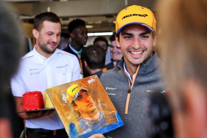 2019年F1第19戦アメリカGP決勝 カルロス・サインツJr.(マクラーレン)