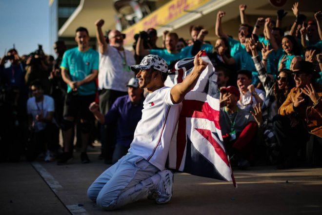 2019年F1第19戦アメリカGP決勝 ルイス・ハミルトン(メルセデス)