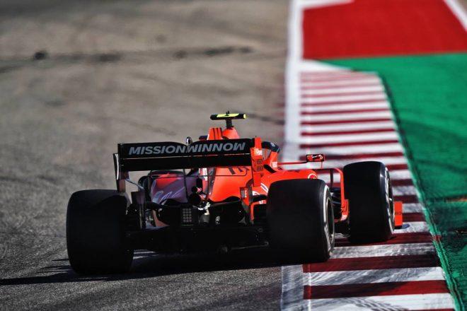 2019年F1第19戦アメリカGP決勝 シャルル・ルクレール(フェラーリ)