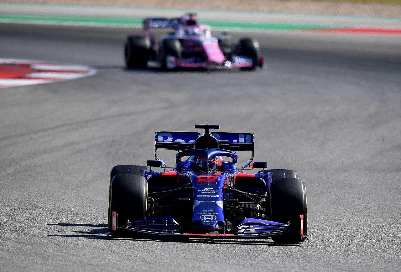 2019年F1第19戦アメリカGP ダニール・クビアト(トロロッソ・ホンダ)