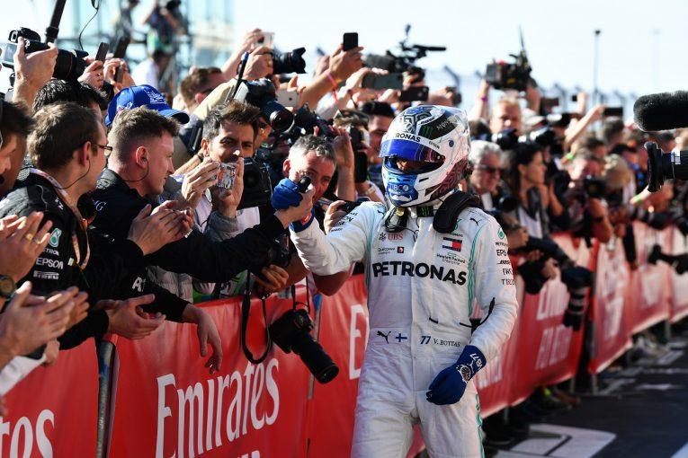 F1 | ボッタス今季4勝目「フェルスタッペンを警戒して戦略変更。勝利を失うのではないかと心配した」:F1アメリカGP